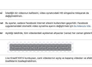 Facebook'ta Otomatik Video Oynatmayı Kapatma