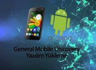 General Mobile Yazılım Yükleme