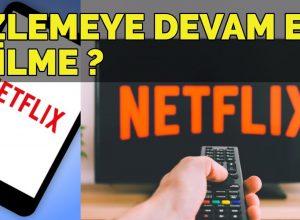 Netflix İzleme Geçmişi Nasıl Silinir?